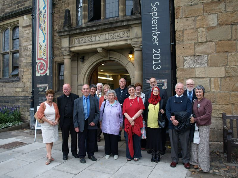 Lindisfarne Gospels Group Photo